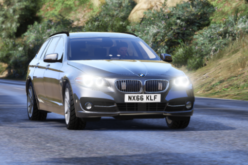 BMW 530d F11 [Unmarked | Matrix | ELS]